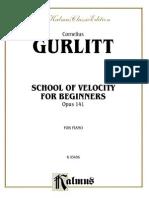 School of Velocity for Beginners, Op. 141.pdf
