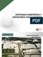 CHARLA DEFENSA RIBEREÑA Y ESPIGONES.ppt