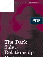 Cupach and Spitzberg - The Dark Side of Relationship Pursuit