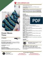 Ocean Waves Throw