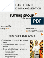 Presentation on Future Group