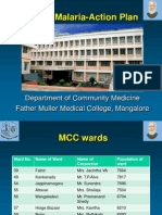 Action Plan for Malaria in Mangalore