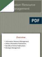 Information Resource