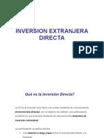 Inversion Extranjera Directa2