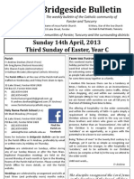 2013-04-14 - 3rd Easter Year C