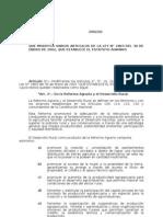 LEY 2002 DEL 02 QUE MODIFICA VARIOS ARTICULOS DE LA LEY N° 1863 DEL 30 DE ENERO DE 2002, QUE ESTA