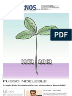 Cuadernos Del Sur, 6-4-2013, Antorcha de Paja