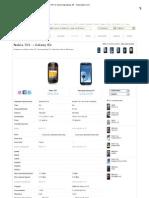 Nokia Lumia 701 vs Samsung Galaxy S3 - Tudocelular