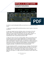 Autopilot Instructions