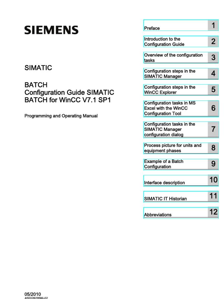 Guide Wincc | Microsoft Excel | Application Programming