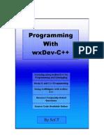 Programming With WxDec-C++