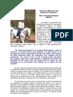 Tecnicas y Ejercicios de La Equitacion Terapeutica