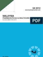 Malaysia Pharmaceuticals & Healthcare Report - Q4 2012