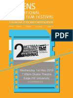 "Programme Edge Hill The Award Winning Films of ""Athens International Digital Film Festival"""