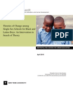 An Intervention in Search of Theory Research Brief