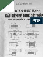 Tinh Toan Thuc Hanh Cau Kien Be Tong Cot Thep TCVN 356-2005 Tap II(2008) -Gs.ts Nguyen Dinh Cong