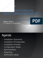 Adi - Installing and Configuring SCE 2010