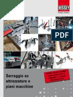 BESSEY Serraggio su attrezzature e piani macchine