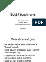 BLAST Benchmarks