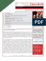 The Jamestown Foundation - China Brief - Volume 9 Issue 20
