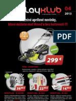 Leták PlayKlub 4/2013
