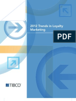 2012 Trends In Loyalty Marketing