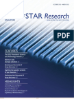 A*STAR Research October 2012-March 2013
