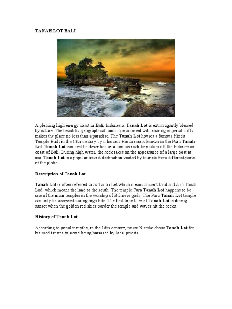 Description Text Tempat Wisata Di Indonesia Volcanic Eruption