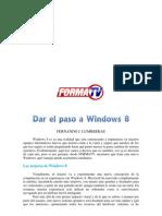 Dar El Paso a Windows 8