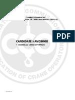 Overhead Crane Operator Handbook