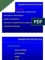 Generator Protections Basics