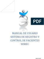 Manual Usuario SISREC