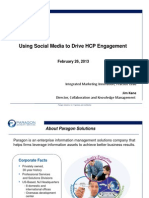 How to Leverage Social Media to Drive HCP Engagement