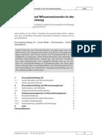 Social Media und Wissensnetzwerke in der Personalentwicklung