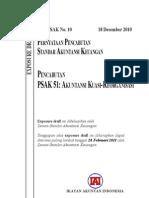 ED PPSAK 10 Pencabutan PSAK 51 Akuntansi Kuasi Reorganisasi