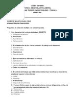 Respuestas Evaluacion Legislacion Laboral