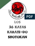 Shotokan_los 26 Katas