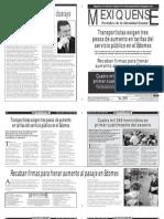 Versión impresa del periódico El mexiquense 12 abril 2013