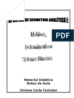 GeometriaAnalíticaI