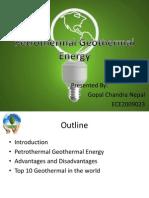 Petrothermal Geothermal Energy