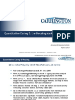 Quantitative Easing & the Housing Market
