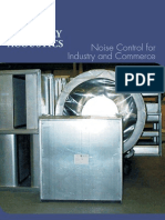 Noise Control for Industry & Commerce