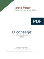 Pinter Harold - El Conserje