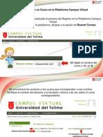 2 Manual matriculación de cursos