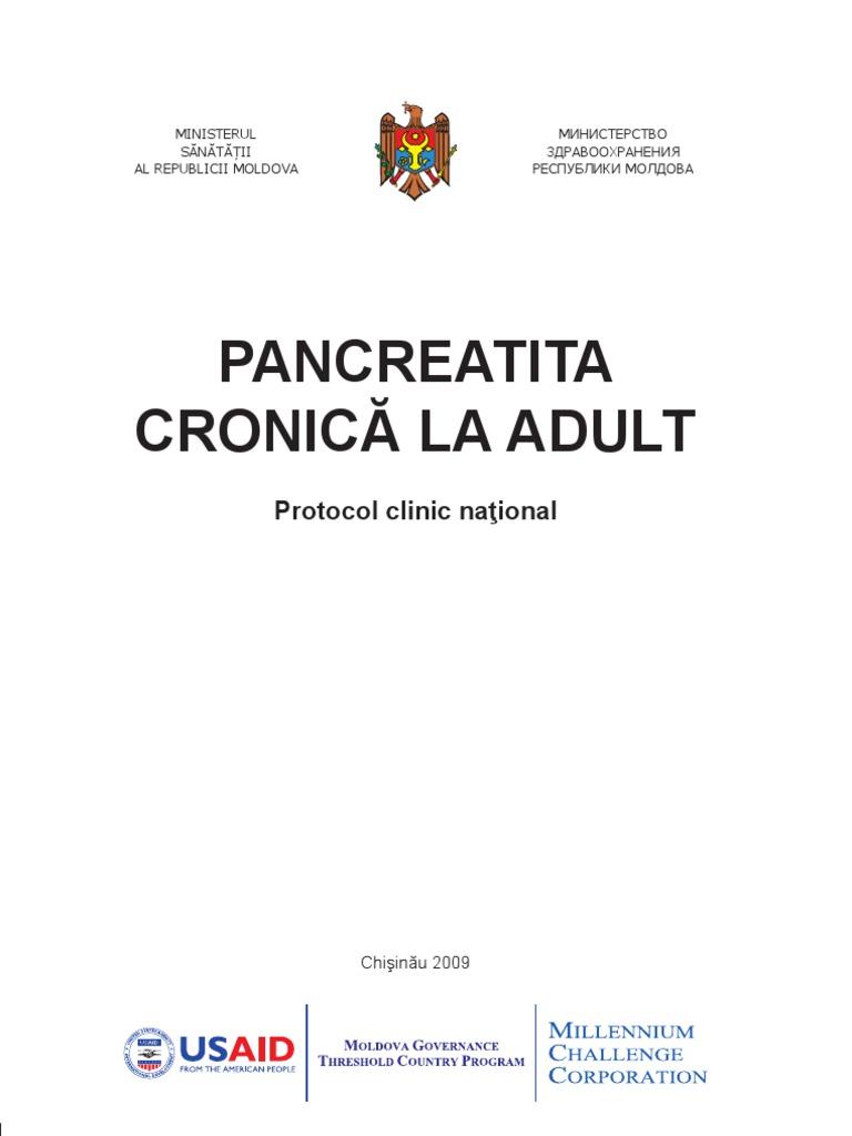 pancreatita cronica tratament medicamentos