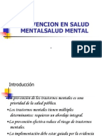 Clase II Salu Mental