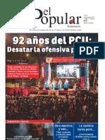El Popular N° 205 - 26/10/2012