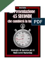 metodo 45 secondi