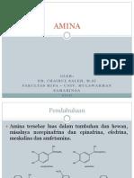 Kimia Organik 2.4 - Amina (KUIS I)