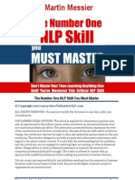Martin Messier Number One NLP Skill